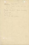 Notes: G 1055, Shaft D, notes