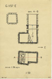 Maps and plans: G 1157, Shaft E