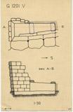 Maps and plans: G 1201, Shaft V