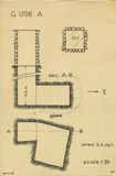 Maps and plans: G 1208, Shaft A