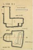 Maps and plans: G 1208, Shaft B (II)
