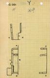 Maps and plans: G 1301, Shaft Y