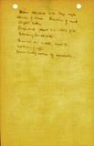 Notes: G 1401, Shaft D, notes