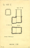 Maps and plans: G 1401, Shaft E