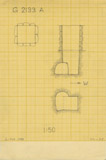 Maps and plans: G 2133, Shaft A