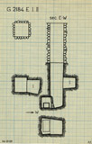 Maps and plans: G 2184, Shaft E