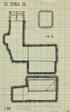 Maps and plans: G 2184, Shaft G