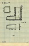Maps and plans: G 2184, Shaft V
