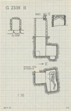 Maps and plans: G 2338, Shaft B