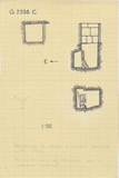 Maps and plans: G 2338, Shaft C