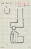 Maps and plans: G 2347 A = G 5551, Shaft A