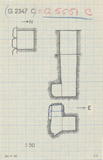 Maps and plans: G 2347 C = G 5551, Shaft C