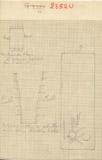 Maps and plans: G 2352, Shaft U