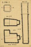 Maps and plans: G 2381, Shaft Z
