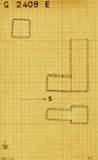 Maps and plans: G 2409, Shaft E