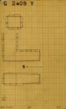 Maps and plans: G 2409, Shaft Y