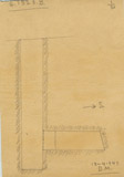 Maps and plans: G 7523, Shaft B