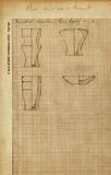 Drawings: MQ 1, Model vessels