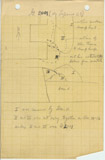 Maps and plans: G 2000 = Lepsius 23, Sketch of area around south chapel