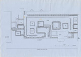 Maps and plans: Plan of G 1027 and G 1028, with position of G 1025a and G 1026