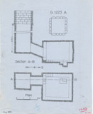 Maps and plans: G 1223, Shaft A