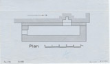 Maps and plans: G 1351, Plan of chapel