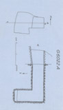 Maps and plans: G 6022, Shaft A