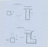 Maps and plans: G 7157, Shaft C and D