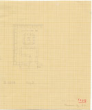 Maps and plans: G 1008, Plan of chapel and serdab