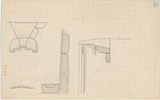Maps and plans: G 1026, Plan and section of niches (6 and 7)