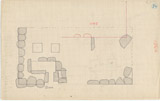 Maps and plans: Plan of G 1044, with position of G 1045+1046