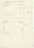 Maps and plans: G 1209, Shaft A, chamber, wall elevations