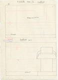 Maps and plans: G 1235, Shaft A, wall elevations (north and south)