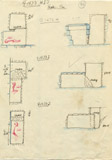 Maps and plans: G 1673, Shaft H, I, J