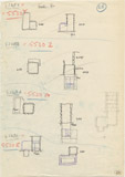 Maps and plans: G 2349 = G 5530, Shaft A, E, Y, Z