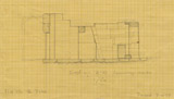 Maps and plans: G 7130-7140: G 7140, Section through chapel