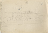 Maps and plans: G 7130-7140: G 7140, Sketch drawing east face
