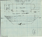 Drawings: G 7143, Shaft B, wood coffin