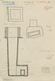 Maps and plans: G 7333, Shaft A