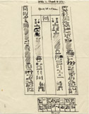 Drawings: G 7521, False door of Nihetep-ptah Hepi