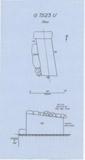 Maps and plans: G 7523, Shaft U