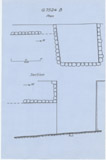 Maps and plans: G 7524, Shaft B