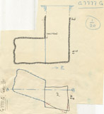 Maps and plans: G 7777, Shaft G