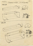 Maps and plans: G 7792, Shaft A, sarcophagi