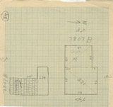 Maps and plans: G 7807, Shaft B