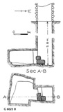 Maps and plans: G 6023, Shaft B