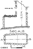 Maps and plans: G 6034, Shaft E
