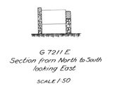 Maps and plans: G 7211, Shaft E