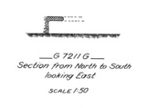 Maps and plans: G 7211, Shaft G