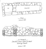 Maps and plans: G 7509, Shaft D